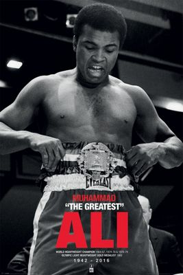 Muhammad Ali Commemorative Belt Poster 61x91.5cm
