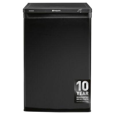 Hotpoint RZAAV22K Undercounter Freezer, 60cm, A+ Energy Rating, Black