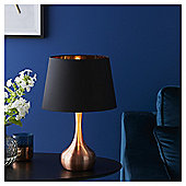Fox & Ivy Soho Metal Base Table Lamp