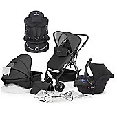 KinderKraft Moov Travel System with 2nd Stage Car Seat - Black