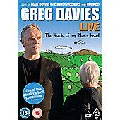 Greg Davies Live - The Back of My Mum's Head