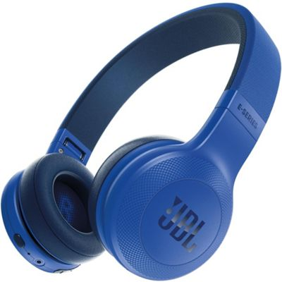 JBL E45, On-Ear Bluetooth Headphones Blue