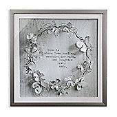 Memories Diamante Filled Frame 60cm x 60cm
