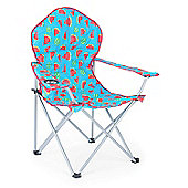 Trail Deluxe Funky Folding Festival Chairs - Blue Watermelon