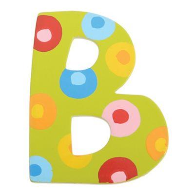 Tatiri Spots & Stripes Letter B (Spots)