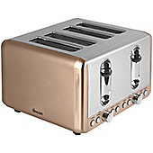 Swan ST14050COPN 4 Slice Toaster - Copper