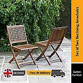 BillyOh Hampton Folding Chair - 2 x Folding Chair
