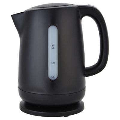 buy tesco rapid boil plastic jug kettle 1 5l black from. Black Bedroom Furniture Sets. Home Design Ideas
