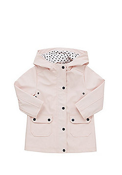F&F Rubberised Raincoat - Pink
