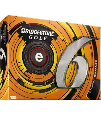 Bridgestone Mens E6 Straight Distance Golf Ball