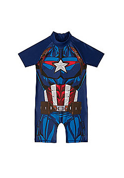 Marvel Comics Boys Surf Suit - Blue