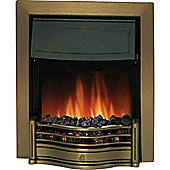 Dimplex Danesbury Inset Fire - Antique Brass