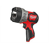 Milwaukee M12 SLED-0 LED TRUEVIEW Spot Light 12 Volt Bare Unit