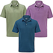 Woodworm Golf Feeder Stripe Polo Shirt 3 Pack - Mens - Multi