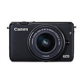 Canon EOS M3 Black CSC Camera + EF-M 15-45mm Lens