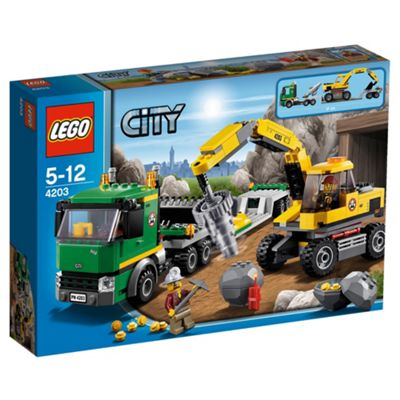 LEGO City Mining Excavator Transport 4203