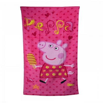 Character Peppa Printed 100% Cotton Beach Towel