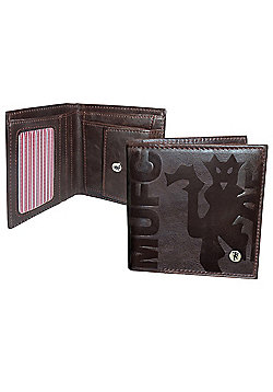 Manchester United FC Luxury Wallet Brown
