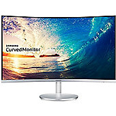 Samsung C27F591 27 inch Curved LED Monitor Black & Silver