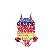 Emoji Print Swimsuit - Multi