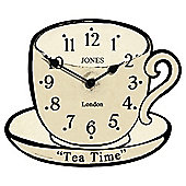 Jones & Co Tea Wall Clock