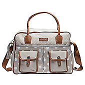 Bebejou Natural Polka Dot Changing Bag