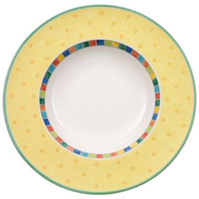 Villeroy and Boch Twist Alea Limone Deep Plate 30cm