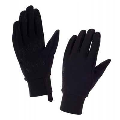 SealSkinz Fleece Nano Glove Black Size: XL