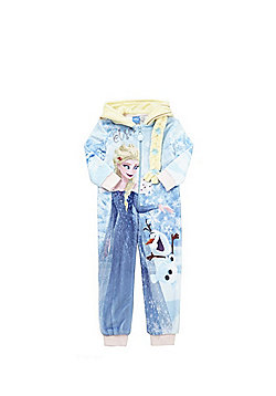 Disney Frozen Elsa Hooded Onesie - Blue