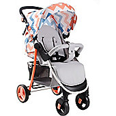 My Babiie Billie Faiers MB30 Pushchair (Coral Chevron)