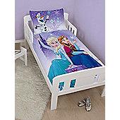 Disney Frozen Snowflake 4 in 1 Junior Bedding Bundle Set