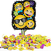 Smiley Pull Piñata Kit