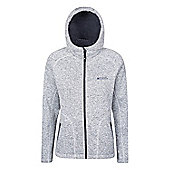 Mountain Warehouse Nevis Womens Fur Lined Hoodie ( Size: 12 )
