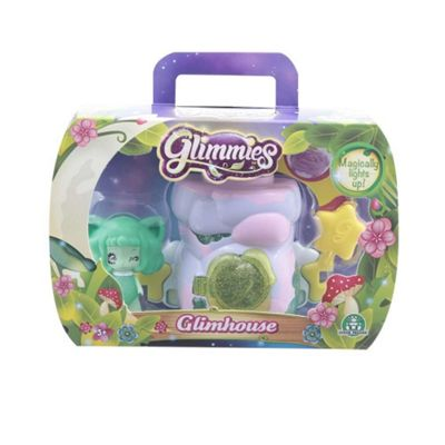 Glimmies Small Lilac Glimhouse and Green Glimmie