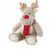 Intelex Warmies Heatable Christmas Reindeer Microwavable Cozy Plush Soft Toy