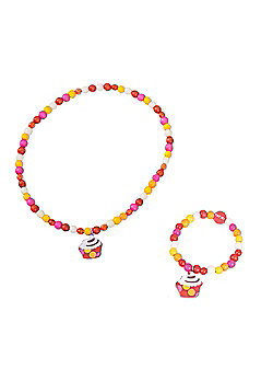 Tatiri Cupcake Bracelet and Necklace (Cupcake)