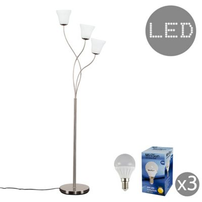 Curtis 3 Arm LED Floor Lamp