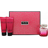 Jimmy Choo Blossom Gift Set 100ml EDP + 100ml Body Lotion + 100ml Shower Gel For Women