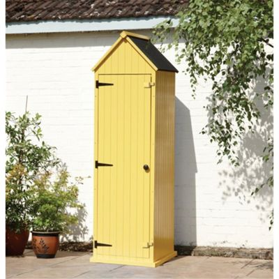 2 x 2 Yellow Beach Style Apex Sentry Storage Shed 2ft x 2ft (0.65m x 0.65m)