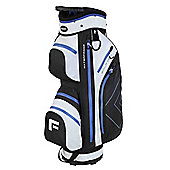 "Forgan Golfdry 9.5"" Waterproof Golf Trolley Bag White/Blue/Black"