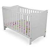 kitty cot bed - white