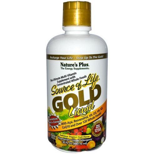Natures Plus Liquid Source Of Life Gold 30oz Liquid