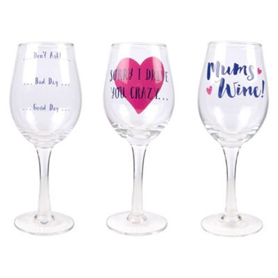 Mother's Day Novelty Wine Glass