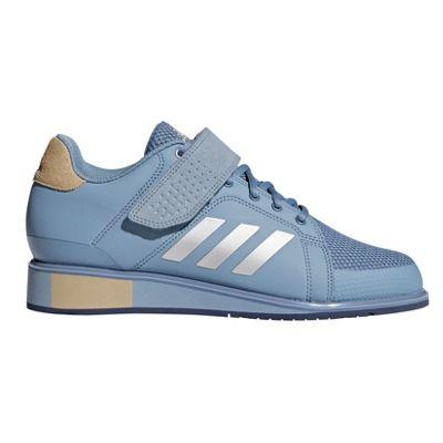 adidas Power Perfect III Womens Weightlifting Powerlifting Shoe Blue - UK 4.5