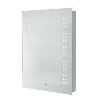 Homcom LED Bathroom Sensor Mirror Demist Shaver Socket 70cm × 50cm × 6.5cm