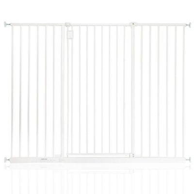 Safetots Extra Tall Hallway Gate White 134.2 - 140.2cm