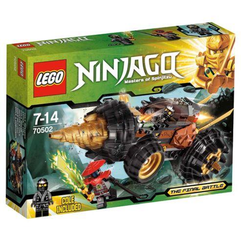 LEGO Ninjago Coles Earth Driller 70502