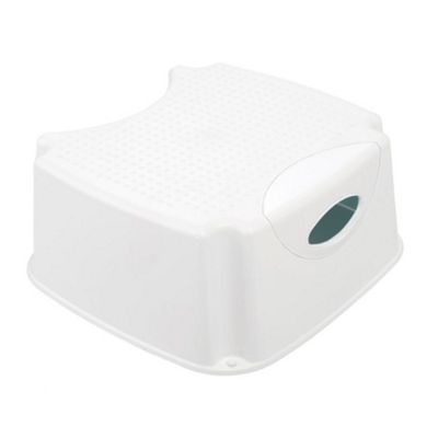 The Neat Nursery Step Up Stool - White