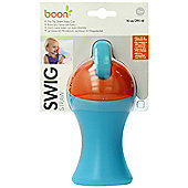 Boon Swig Tall Spout Top Sippy Cup - Blue/Orange
