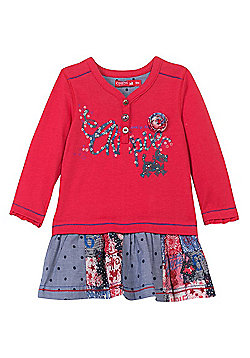 Chipie Grenade Denim Day Dress-6M,12M,18M,24M,36M - Multi
